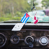 Dashboard of Classic American 50s Car  Havana  Cuba