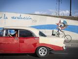 Revolutionary Slogan  Habana Vieja  Havana  Cuba