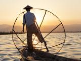Intha Fisherman  Shan State - Inle Lake  Myanmar (Burma)