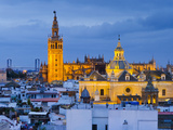 Spain  Andalucia  Seville Province  Seville   Cathedral of Seville  the Giralda Tower