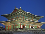 South Korea  Seoul  Gyeongbokgung Palace  Geunjeongjeon Throne Hall