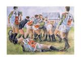 Rugby Match: Harlequins v Wasps  1992