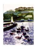 St Ives Harbour  High Tide