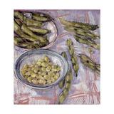 Preparing Broad Beans
