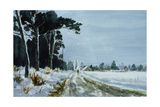Hermitage Road in the Snow (Village of Higham  Near Rochester)