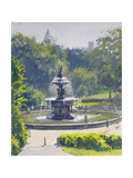 The Bethesda Fountain  Central Park  1996