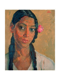 Head of a Jamaican Girl