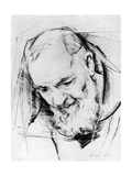 Study for a Padre Pio Monument  1979-80
