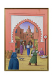 Street Scene in Marrakesh  1992