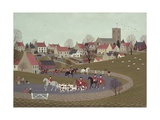 The Hunt Riding Through the Village  1986