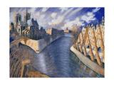 Notre Dame Cathedral  Paris  1986