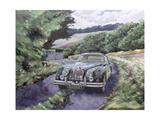 Jaguar Xk150 Cruising