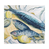 Mackerel with Oysters and Lemons  1993