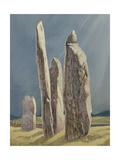 Tall Stones of Callanish  Isle of Lewis  1986-7