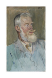 Portrait of George Bernard Shaw (1856-1950)  1915