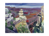 Famous Rock  Grand Canyon  2000