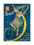 Poster Advertising 'Fernand Clement' Bicycles