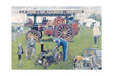 Traction Engines at the Show  1993