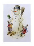 Snowman and Hares  1999