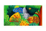 Jungle Scene  2002