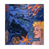 Woman and Starfish  1989