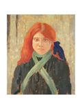 Portrait of the Mumper's Daughter  C1914