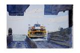 Staten Island Ferry Docking  2010