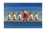 Choirboys and Santa