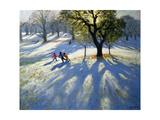 Markeaton Park  Early Snow