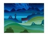 Moonlit Landscape  1997