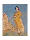 The Yellow Dress  C1912