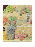 Fruit-Stall, La Laguinilla, 1998 Reproduction d'art par James Reeve