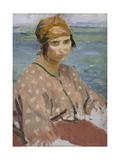 Dorelia Wearing a Turban  C1912