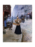 The Roasted Chestnut Seller