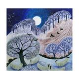 First Snow Surrey Hills