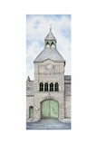 Gatehouse Clock  Caton Road  Lancaster  Lancashire  2009