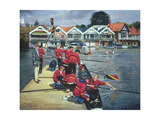 Towards the Boathouses  Henley  1997