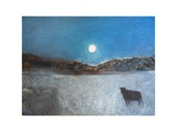 Sheep and Moon  1997