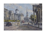 The National Gallery - Trafalgar Square in About 1920  2008