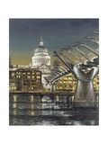 St Paul's and the Millennium Bridge  2004