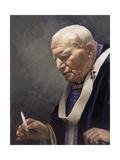 Study for a Portrait of Pope John Paul II (1920-2005) 2005