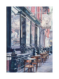 Cafe Della Pace  East 7th Street  New York City  1991
