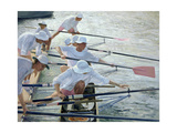 Securing Oars  Henley