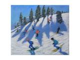Skiers  Lofer  2010
