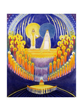 The Coronation of the Virgin Mary and the Glory of All the Saints  2003