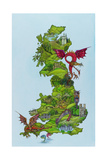 Dragon Map  1986