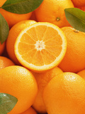 Oranges and Cut Orange  1996