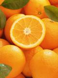 Oranges and Cut Orange  1996