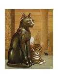 Mike the British Museum Kitten  1995