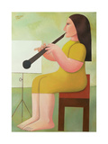 Girl with Clarinet  1986